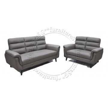 Bavaria Sofa Set (Half Leather) 2 Years Warranty