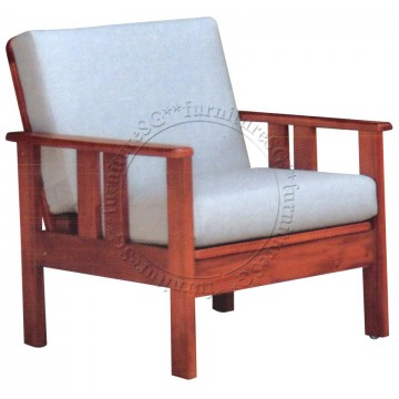 1-Seater Wooden Sofa WS1033