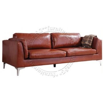 Leeson Faux Leather Sofa